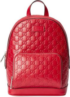 Shop Now - >  https://api.shopstyle.com/action/apiVisitRetailer?id=615724401&pid=uid6996-25233114-59 Gucci Signature leather backpack  ...