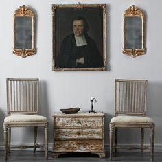 Pair of 18th Century Swedish Gustavian Chairs