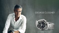 """When it comes to Brand Ambassadors, Rolex have some guys who play """"golf"""", Omega have George Clooney and Daniel Craig ..."""