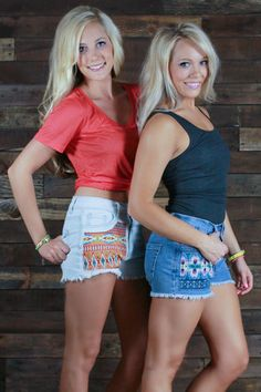 High Tide Tribal Shorts - uoionline.com: Women's Clothing Boutique