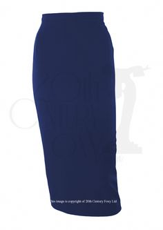 """Dana R Retro""Pencil skirt navy"