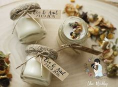 Creation Bougie, Do It Yourself Crafts, Team Bride, Wedding Crafts, Ikea, Favors, Creations, Place Card Holders, Candles