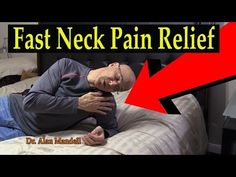 60 Second Neck & Roll Stretch for Fast Relief of Neck Pain & Pinched Nerve - Dr. Mandell, D.C. - YouTube