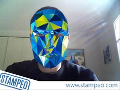 Augmented Reality Face Tracking Glass Mask