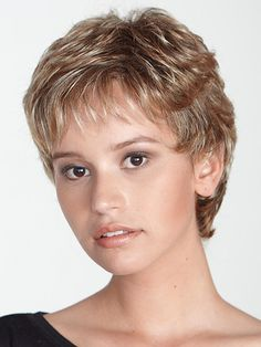 Short+Pixie+Human+Hair+Wigs | wig by aspen by product description rene wig by aspen a short pixie ...