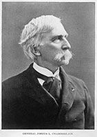 Joshua Chamberlain - Colonel of the 20th Maine, he led his men down the hill at Little Round Top and probably saved the day for the North.  Minister, college professor prior to the war, college president and Governor of Maine after the war,  So smart, so brave, so focused on doing right.