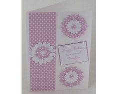 Handmade Birthday Cards | handmade birthday card for daughter hand crafted birthday card for ...
