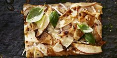 Apple-Brie Pizza with Caramelized Onions - GoodHousekeeping.com