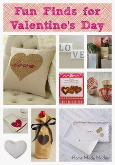 Home Made Modern: Valentine Gifts
