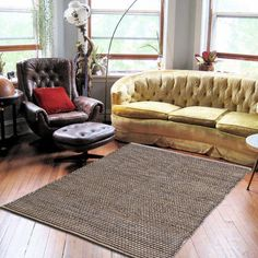 JUTE FLOOR EXTRA LARGE PATTERNED RUGS