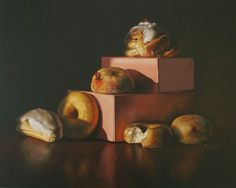 Lucy Crick | Pastries and Buns with Pink Boxes