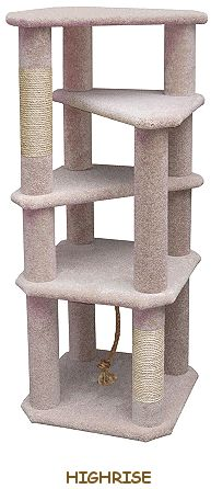 Cat Tree House with Hammock | For the Cat | Pinterest | Cat tree ...