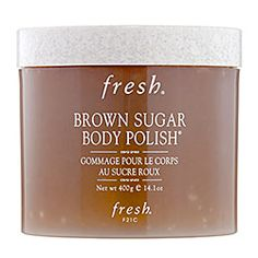 Best body scrub ever! Big grains of unrefined sugar exfoliate while natural fruit oils moisturize leaving skin unbelievably soft. Smells strong while using but light and fresh on skin.