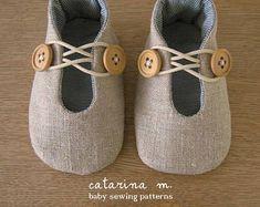 Schnittmuster * Baby-Schuh-Modell n. 1 (+ zwei Varianten) * Catarina M.