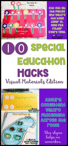 As a special education teacher, you spend enough time making materials, so let's make the time count. Click through for more time-saving hacks for your special education classroom. via @drchrisreeve