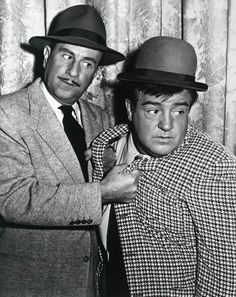 The Abbott and Costello Show.....Bud Abbott and Lou Costello kept us in stitches with their shenanigans!
