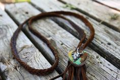 The Buffalo Necklace can be found online now at the store! #theoriginal #leatherandvodka