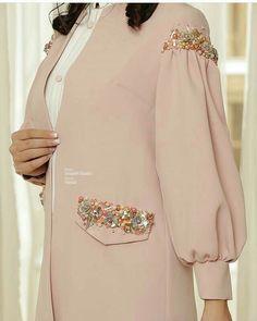 Iranian Women Fashion, Arab Fashion, Muslim Fashion, Modesty Fashion, Fashion Dresses, Mode Kimono, Hijab Style Dress, Mode Abaya, Street Hijab Fashion