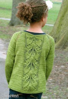 Leaf Lace Cardigan (kids) Crochet , Leaf Lace Cardigan (kids) Leaf Lace Cardigan (kids) Knitting pattern by Ewelina Murach Love Knitting, Kids Knitting Patterns, Christmas Knitting Patterns, Kids Patterns, Knitting For Kids, Crochet For Kids, Knit Crochet, Lace Cardigan, Cardigan Pattern