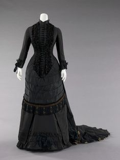 Dinner Dress 1880 The Metropolitan Museum of Art