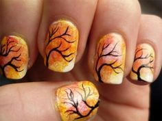 Latest Fall Nail Art Designs, Trends & Ideas For Girls 2013/ 2014 | Girlshue