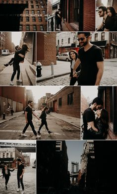 Brooklyn, New-York engagement session. (photos by: ins. - Brooklyn, New-York engagement session. (photos by: ins… – # - Couple Photoshoot Poses, Couple Photography Poses, Couple Posing, Couple Shoot, Couple Portraits, Urban Photography, Couple Pictures, Urban Engagement Photos, Engagement Photo Poses