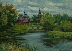 ДАНИЛОВ АНАТОЛИЙ ВАСИЛЬЕВИЧ. Суздаль. Музей деревянного зодчества