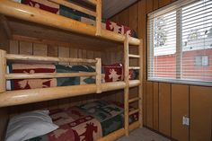 Image detail for -Bedrooms each with Triple Bunk Beds