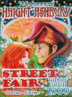 Haight Ashbury Street Fair 2000  by Shane Grogg.
