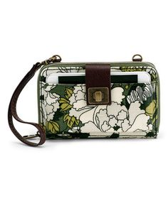 Olive Flower Power Artist Circle Smartphone Crossbody #zulily #zulilyfinds