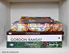 I miei libri di cucina preferiti   one cake in a million