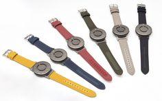 新色登場!触って時間を知る時計 BRADLEY CLASSIC CANVAS