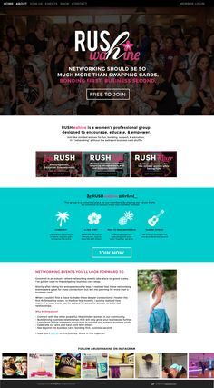 #web #design / #wordpress design / #branding design by www.kayeputnam.com #entrepreneur #smallbusiness #business #identity #webdesign