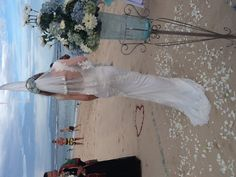 Wedding dress custom made by TYRA modeste