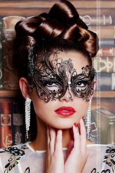 Beautiful Mask, Beautiful Women, Opera Mask, Diana Dors, Female Mask, Mask Girl, Lace Mask, Masquerade Ball, Masquerade Tattoo