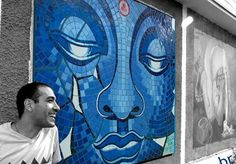 """Se chama Otavio Oods e há 3 anos decidiu mudar de vida e começar a criar mosaicos de uma beleza única. No seu ateliê, Oodsmosaic, desenvolve os produtos se baseando em conceitos de sustentabilidade, harmonia e respeito para com a natureza. Por fim, pede mais arte pra todos. Em Franca, São Paulo, Otavio inseriu um mosaico em praças, parques e alguns estabelecimentos comerciais, """"tentando de alguma forma inserir a arte no inconsciente e consciente das pessoas"""". """"Vejo que estamos carentes de…"""