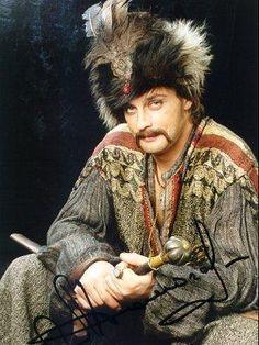 """Aleksandr Domogarov as Bohun (kadr z filmu """"Ogniem i Mieczem"""")"""