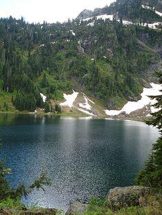 Lake 22 hike, Washington State. I need to buck up and do this one again!