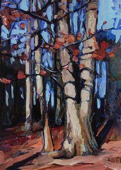 "Daily Paintworks - ""Walton Woods"" - Original Fine Art for Sale - © Chris  Breier"