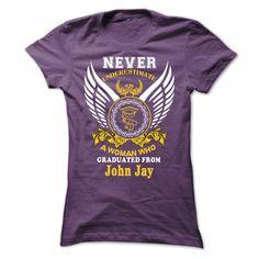 A WOMAN who graduated from John Jay High School  T Shirt, Hoodie, Sweatshirt
