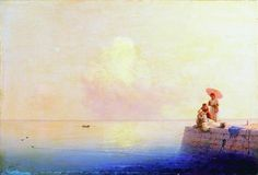 Calm Sea - Ivan Aivazovsky - Completion Date: 1879