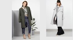 Coat Tales - Eugénie: A talented local designer opens the doors to her chic new boutique. Duster Coat, Interview, Doors, Boutique, Chic, Jackets, Design, Fashion, Shabby Chic