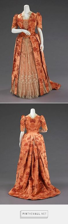 Dinner dress ca. 1886 American | The Metropolitan Museum of Art