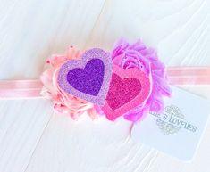 ~*Candy Hearts*~ Valentine Headband or Clip