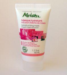 Masque hydratant infusion fraiche de roses, Melvita