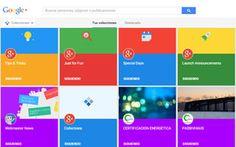 """Cómo funciona """"Colecciones de Google+"""", los nuevos paneles temáticos de la red social de Google #redessociales"""