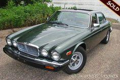 Jaguar XJ6 in British Racing Green...dream car!!: