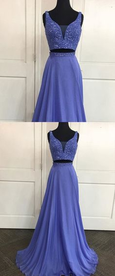 Two Pieces Off the Shoulder V Neck Real Photo Prom Dresses Evening Gown Party Dress LD949 #2piecespromdress #twopiecesdress #promdress #promdresses #laurafashion #laurashop