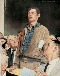 Norman Rockwell's Four Freedoms | The Saturday Evening Post