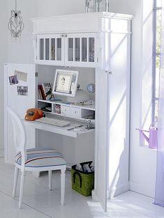 Small space desk.